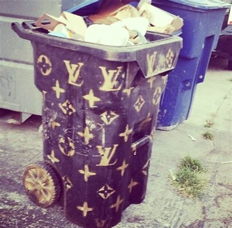 Only In La Louis Vuitton Trash Can  Love & Loathing Los