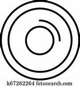 Wheel Outline Icon Potter Potters Clip Fotosearch Clipart sketch template