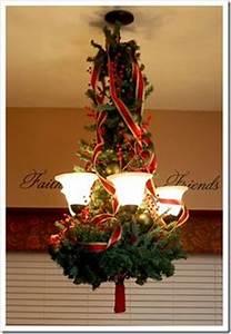 Christmas Chandelier Decor on Pinterest