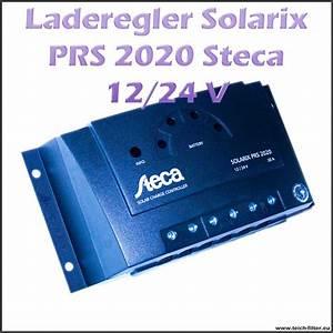 Solar Inselanlage Berechnen : steca solar laderegler 12v 24v 20a solarix prs 2020 f r wohnwagen ~ Themetempest.com Abrechnung