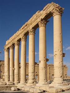 FileColumns In The Inner Court Of The Bel Temple Palmyra