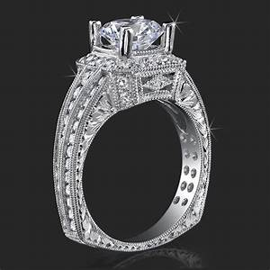 crown flat bottom european style band with over 80 hand With european style wedding rings