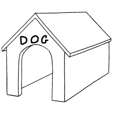 immagini cani da colorare per bambini disegno di cuccia da colorare per bambini