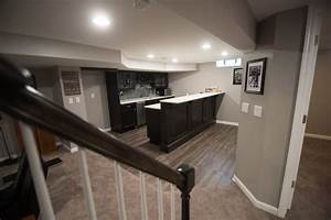 Troy  Mi Finished Basement With Traditional Design