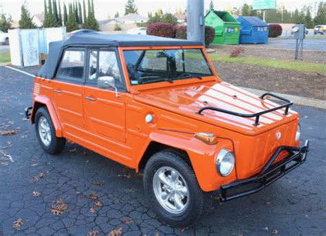 1974 Volkswagen Thing Type 181 1600cc Samba Vw Restoration