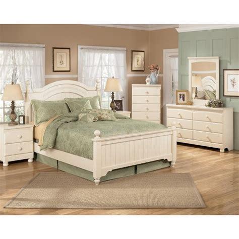 cottage retreat bedroom furniture signature design by furniture cottage retreat