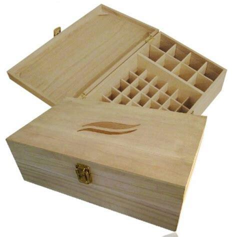 coffret de rangement en bois fsc aromath 233 rapie maxi pour