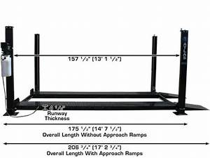 Atlas U00ae Garage Pro 8000 Portable Hobbyist 8k Lbs Capacity 4