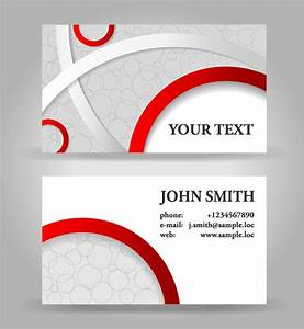 13 free vector business cards images free business card design templates business card vector for Vectors business cards