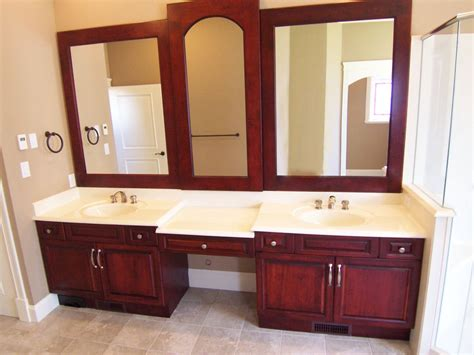 Bathroom Modern Bathroom Vanity Ideas With Varnish Wood