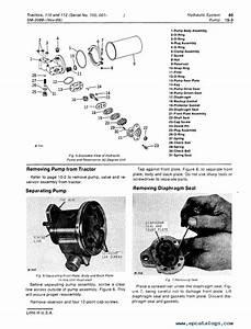 John Deere 110  U0026 112 Lawn Garden Tractors Service Manual Pdf