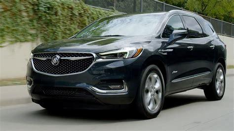 buick enclave avenir driving interior exterior