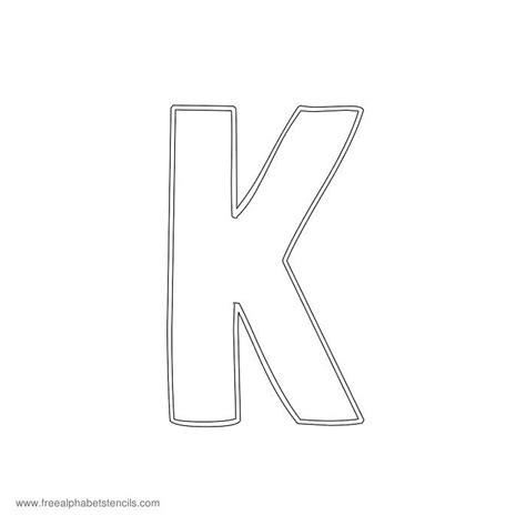 outline sketched alphabet stencils freealphabetstencilscom