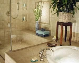 Baño con bañera encastrada :: Imágenes y fotos