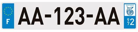 le eplaque plaques d 39 immatriculation martinique 972 sur eplaque fr