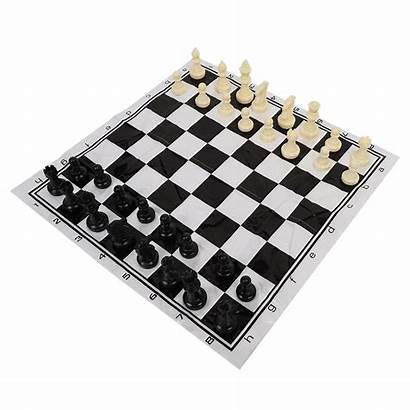 Chess Portable Board Plastic Chessboard International Entertainment