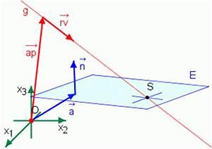 Richtungsvektor Berechnen : schneide gerade ebene ~ Themetempest.com Abrechnung