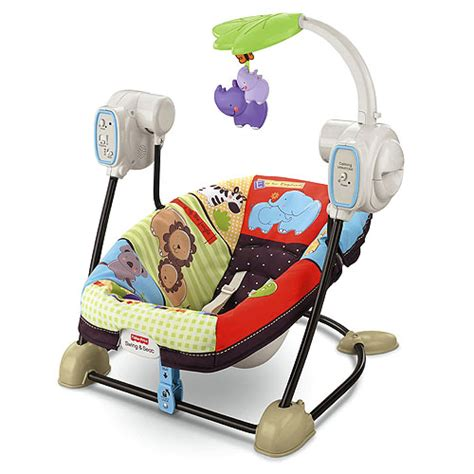 Fisherprice Luv U Zoo Spacesaver Swing & Seat Reviews