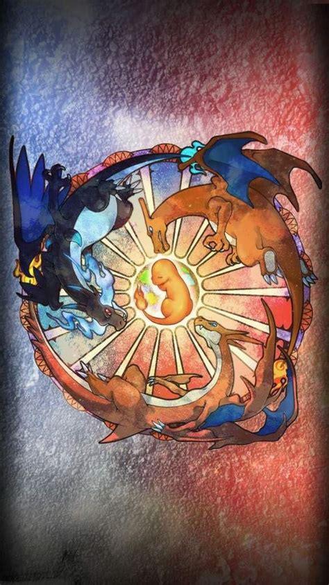 Flaming hair looks real cool. Charizard Phone Wallpaper | Pokémon Amino