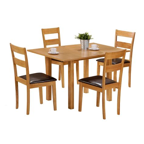 dining room sets for small spaces extending dining table with 4 chairs colorado 60cm 120cm