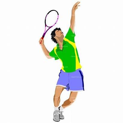 Tennis Clipart Player Clip Ball Cliparts Service