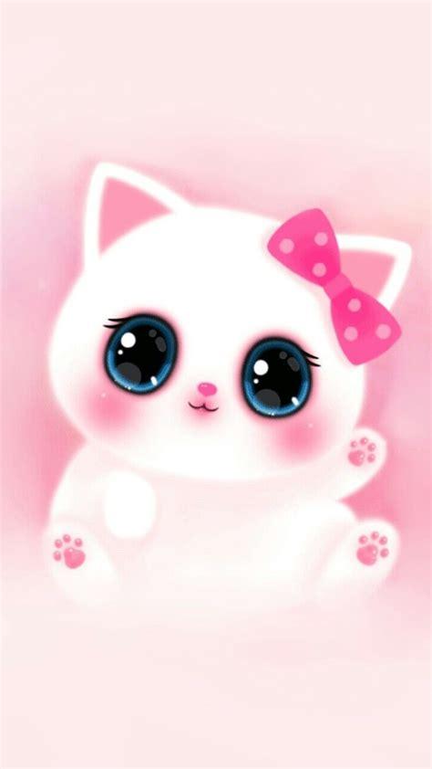 Cute anime wallpaper download free awesome full hd backgrounds. Pink Cute Girly Cat Melody Iphone Wallpaper | Empapelado de gato, Papel tapiz de niña
