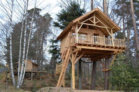 cabane dans les arbres alsace h 233 bergement insolite alsace