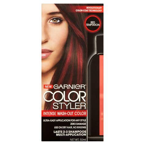 garnier wash out hair color garnier color styler wash out haircolor 1 7 fl oz