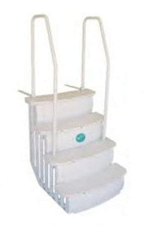 Above Ground Pool Ladders For Decks by Access Istep Above Ground Swimming Pool Deck Entry