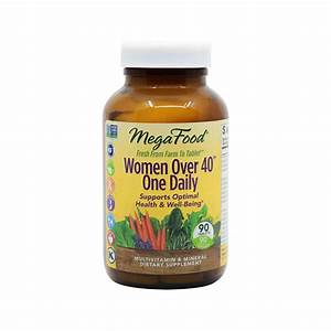 Megafood Multivitamin For Women Over 40 One Daily