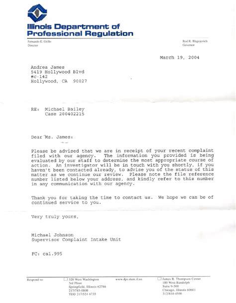 writing  letter  complaint   hospital