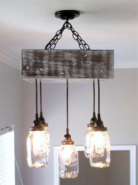 jar chandelier square ceiling light with canopy