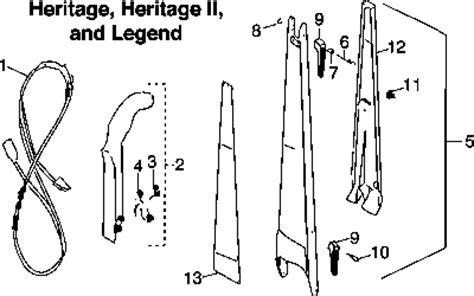 Kirby Heritage Repair Parts Diagrams Partswarehouse