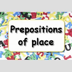 Prepositions Of Place  Learnenglish Kids  British Council