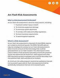arc flash guidebook With arc flash assessment requirements