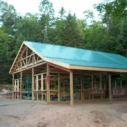 cost to construct a pole barn With cost to build a pole shed