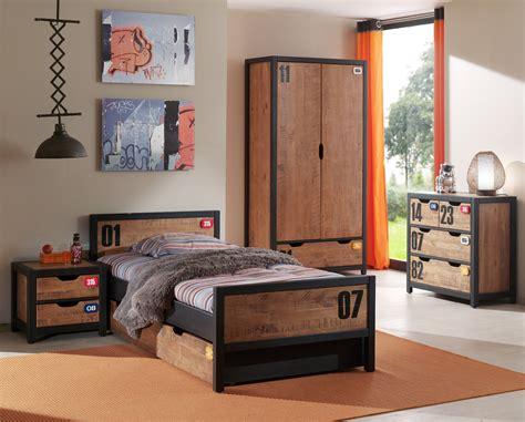 möbel günstig jugendzimmer alex komplett mit einzelbett bettschublade kleiderschrank 2 t 252 rig nachtkonsole