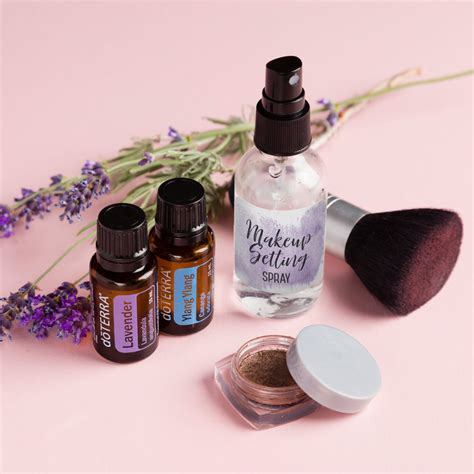 diy makeup setting spray doterra essential oils