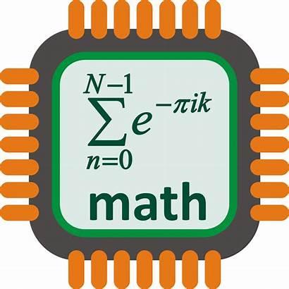Math Processor Clipart Log