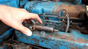 Ford 2000 Tractor Install Fuel Injectors