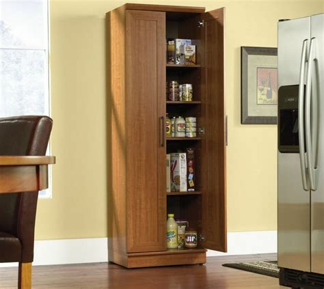 Storage Armoire With Shelves by Kitchen Cabinet Storage Food Pantry Organizer Wooden