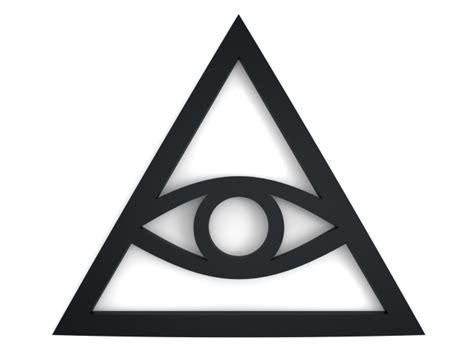 illuminati sign illuminati sign 3d printing model