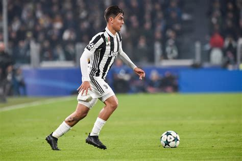 Official 2017/18 UCL Match Ball Signed by Dybala ...