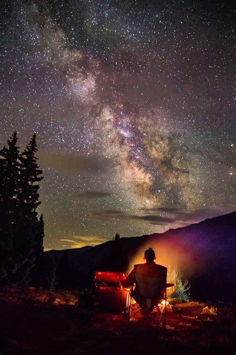 Free Images Night Star Milky Way Adventure