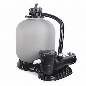 Large 20 U0026quot  Sand Filter 4500gph W   1 Hp Above Ground