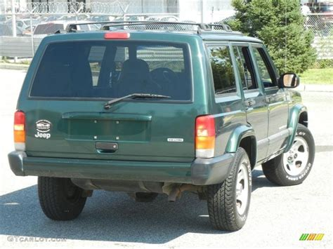 jeep cherokee green 2015 forest green pearlcoat 2001 jeep cherokee sport exterior
