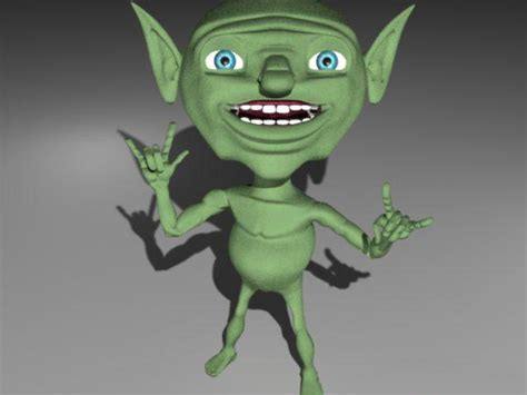 Little goblin 3d model 3D Studio,3ds max,Object files free