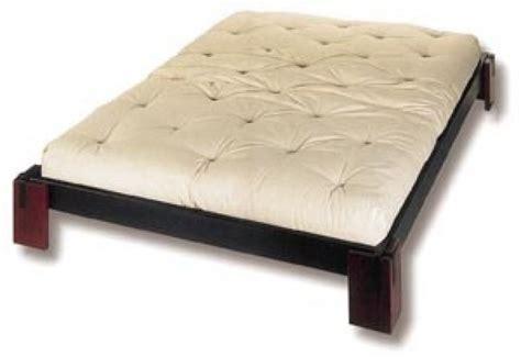 Bett Osaka Inkl Rolllattenrost, 2 Tatami Und Futon Cotton
