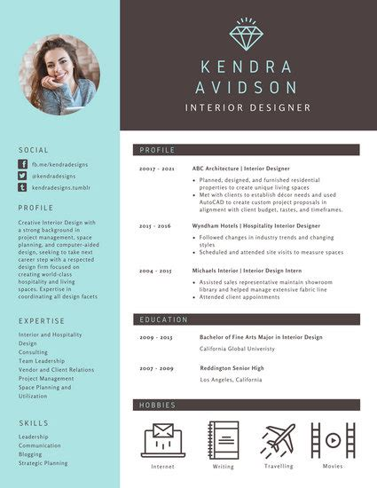 Modern Resume Design by Modern Resume Templates Canva
