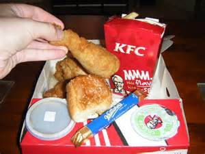 Images of KFC Chicken Meal Boxes
